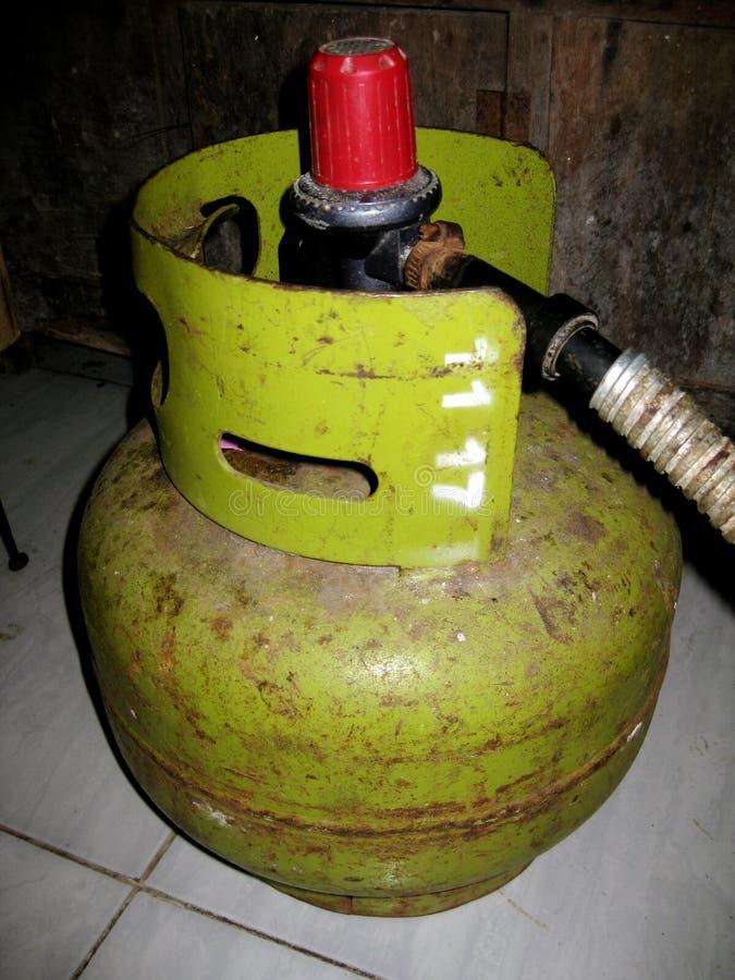 Gás liquefeito do petróleo fotografia de stock