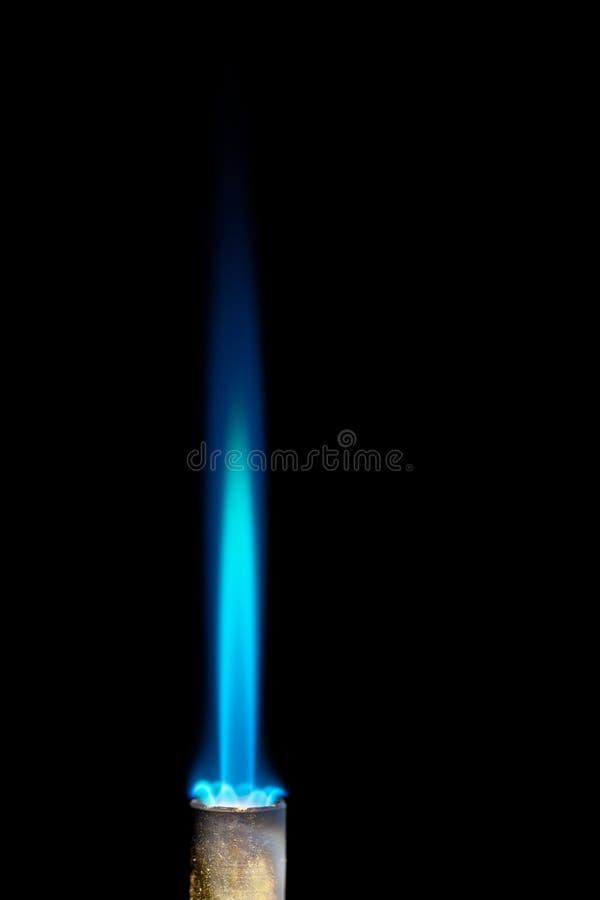 Download Gás natural imagem de stock. Imagem de azul, incêndio - 26514725