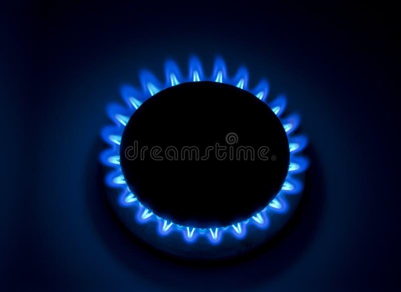 Gás natural ardente