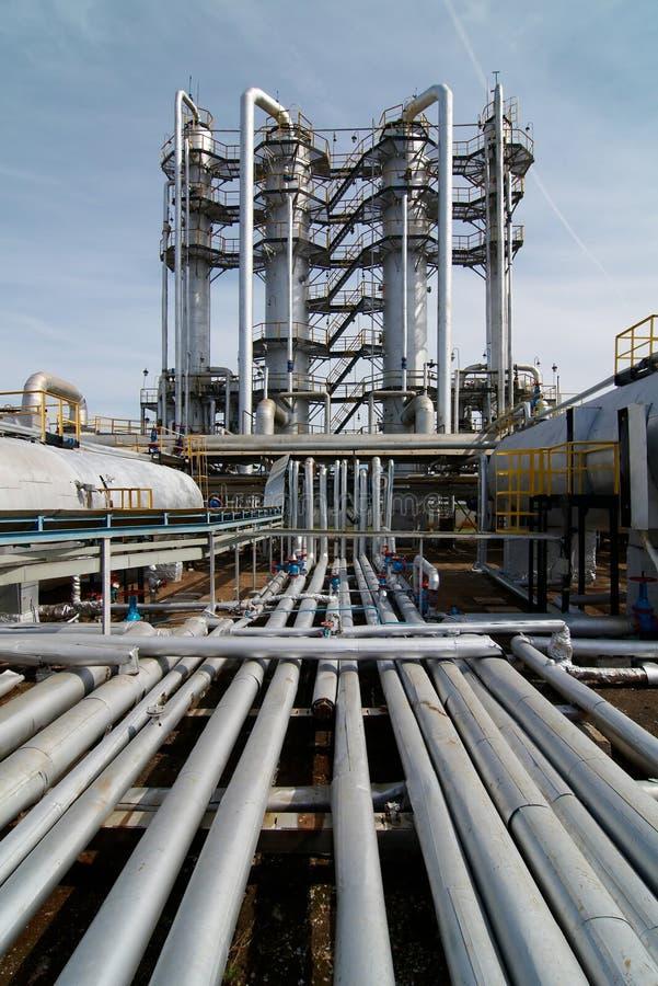 Gás-processando a indústria fotos de stock