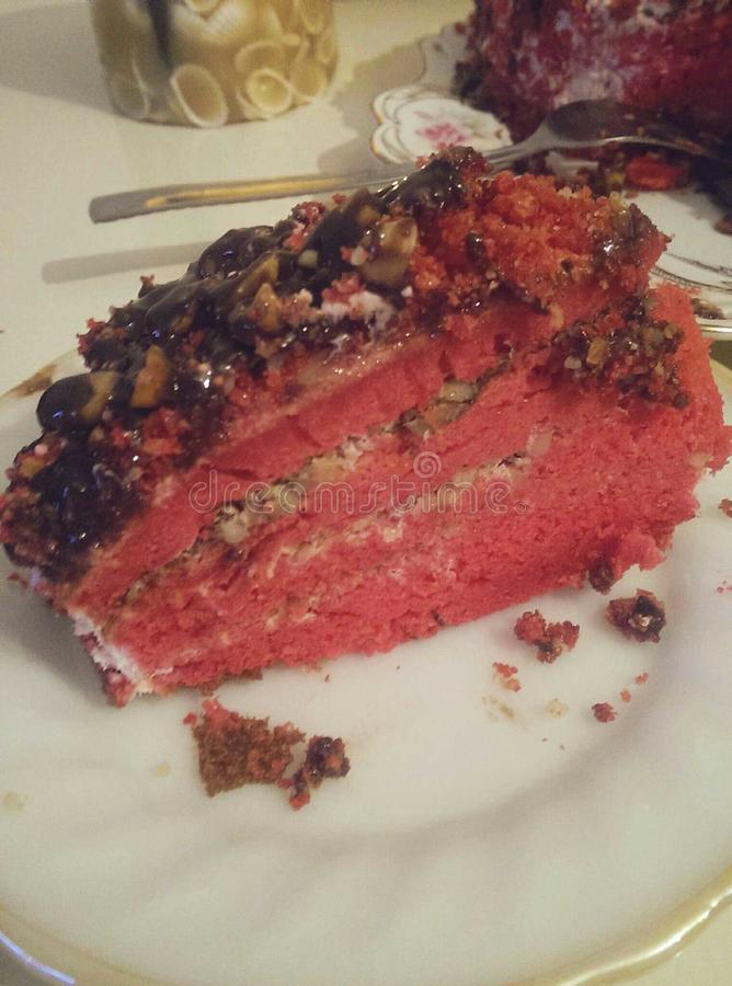 Gâteau 2 images stock