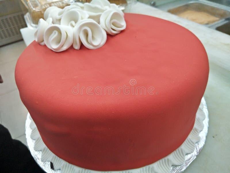 Gâteau accumulé image libre de droits