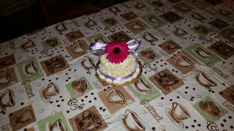 gâteau assez photographie stock libre de droits