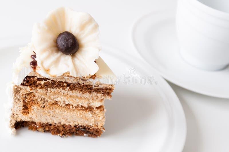 Gâteau au café image libre de droits