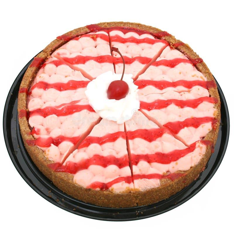 Gâteau Au Fromage De Cerise D Atlanta Images libres de droits