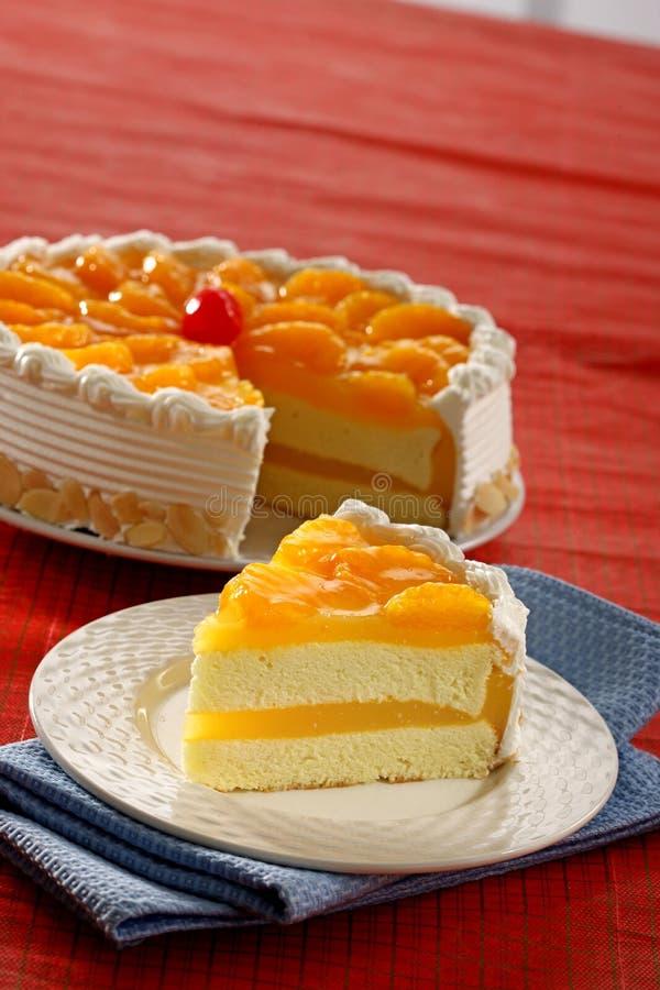 Gâteau au fromage de citron photos libres de droits