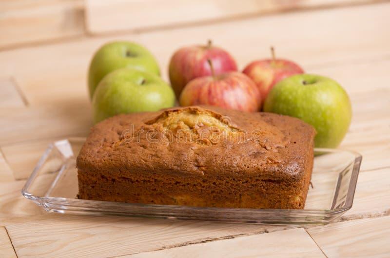Gâteau aux pommes photo libre de droits