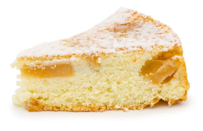 Gâteau aux pommes de Charlotte photographie stock libre de droits