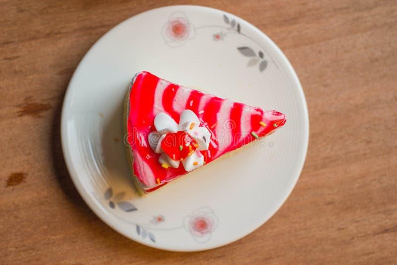 Gâteau blanc image libre de droits