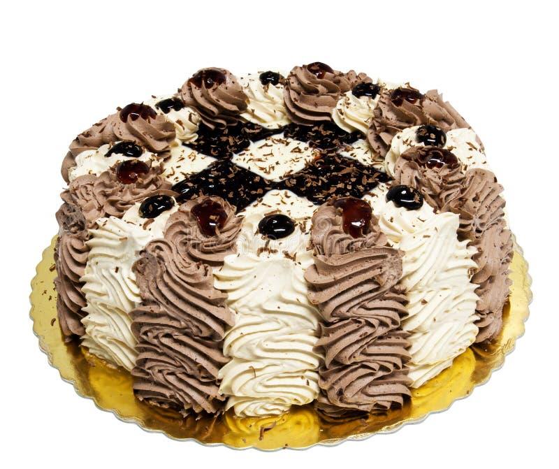 Gâteau crème photo libre de droits