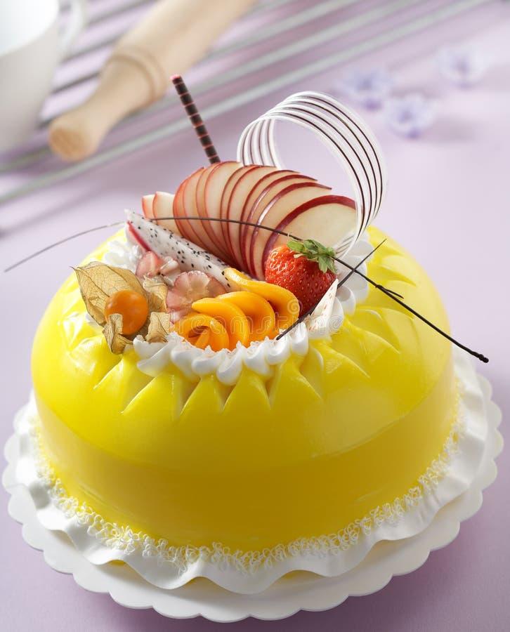 Gâteau délicieux images libres de droits