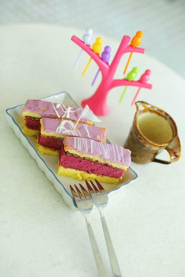 Gâteau d'amour images stock