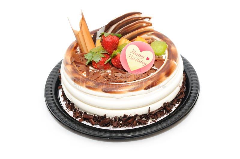 Gâteau d'anniversaire photographie stock