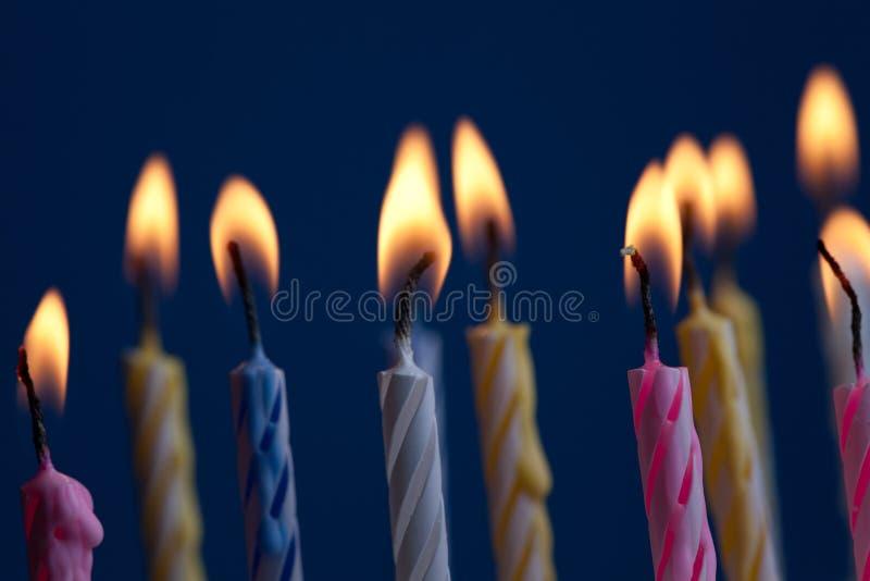 Gâteau d'anniversaire photo libre de droits