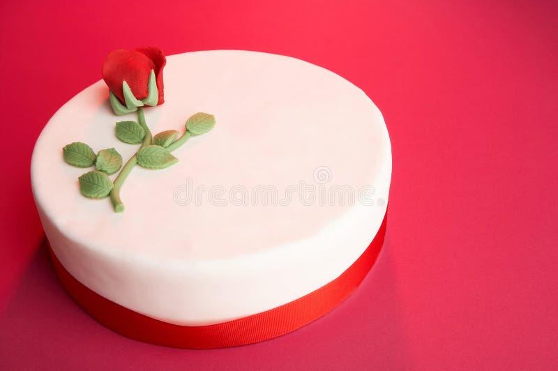 Gâteau D Anniversaire Photo libre de droits