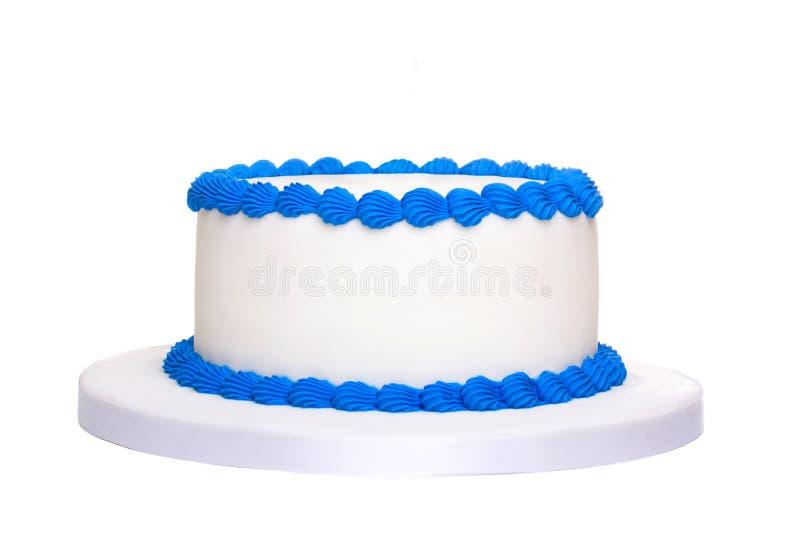Gâteau d'anniversaire vide photographie stock