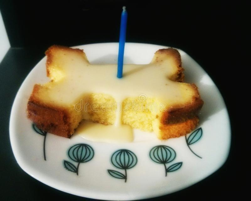 Gâteau d'os images stock