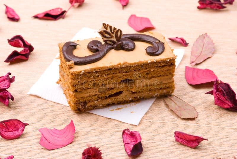 Gâteau de biscuit images stock