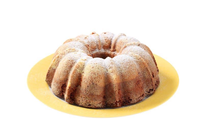 Gâteau de Bundt image stock