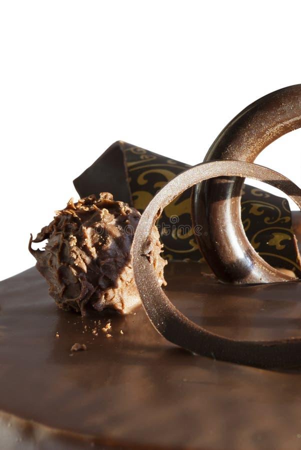 Gâteau de Choco photo libre de droits