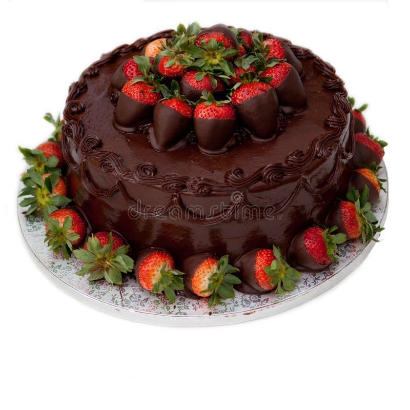 Gâteau de chocolat photographie stock