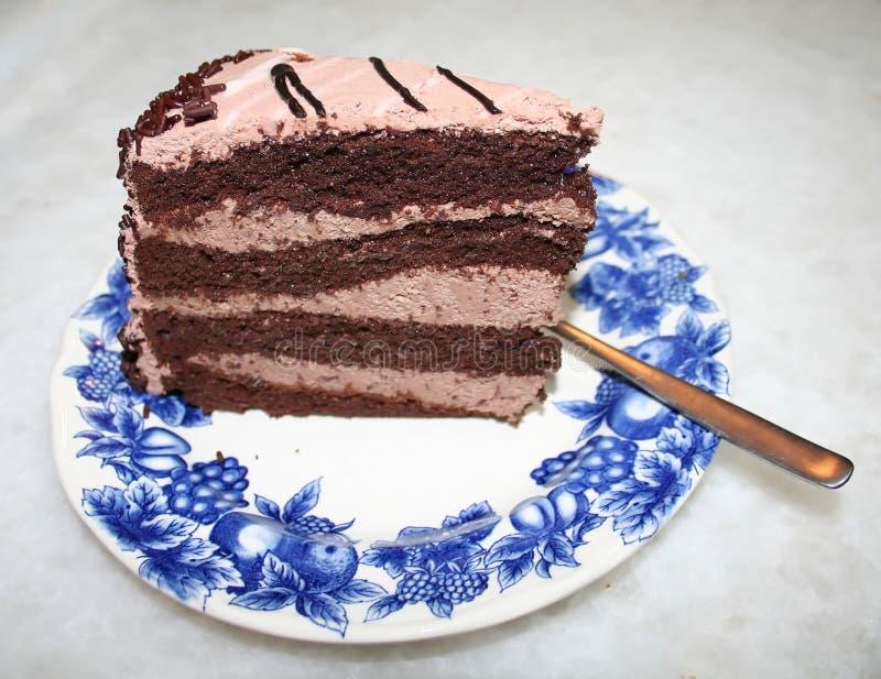 Download Gâteau de chocolat image stock. Image du chaud, coupure - 733349