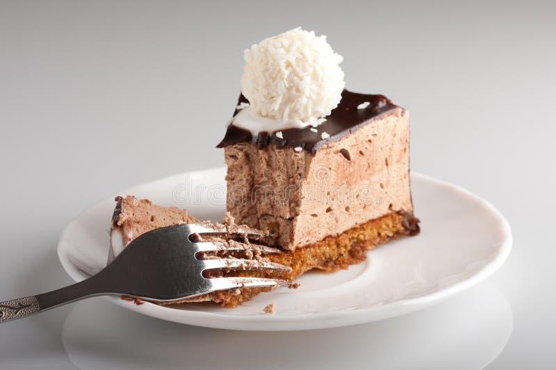 Gâteau De Chocolat Délicieux Photos libres de droits