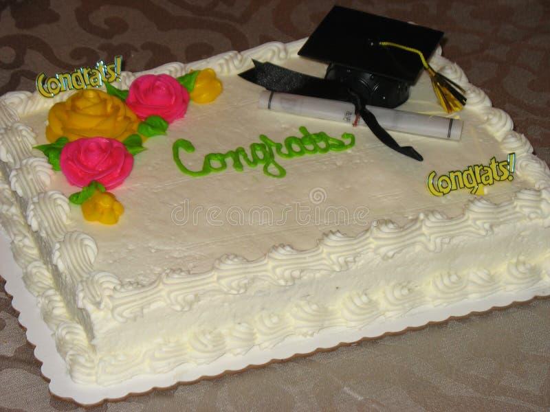 Gâteau de Congrats photos libres de droits