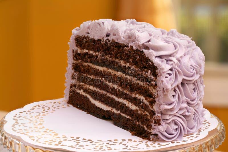 Gâteau de couche du chocolat 6 photographie stock