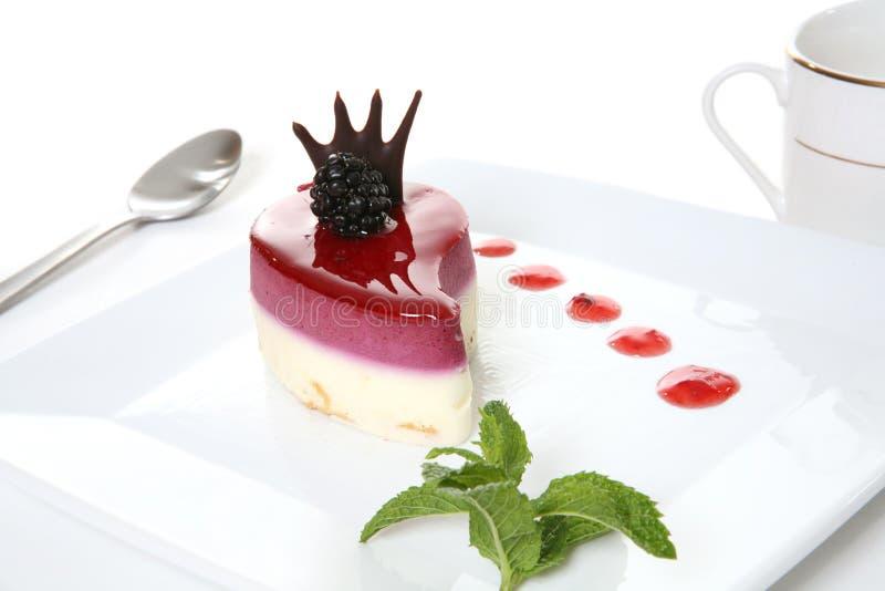 Gâteau de dessert image libre de droits