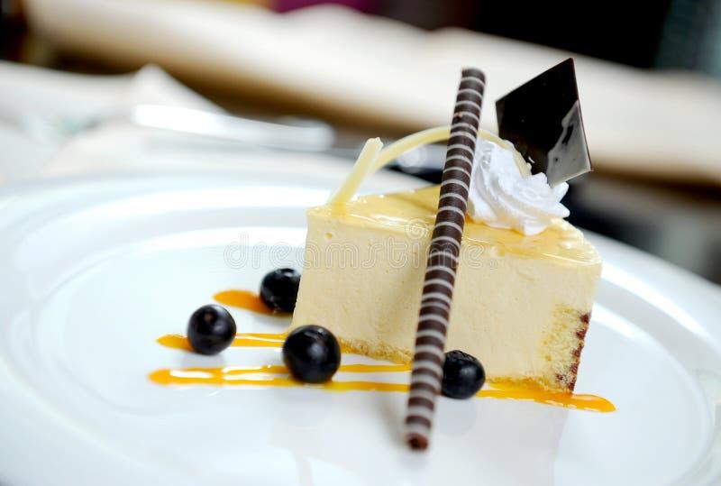 Gâteau de fantaisie image stock