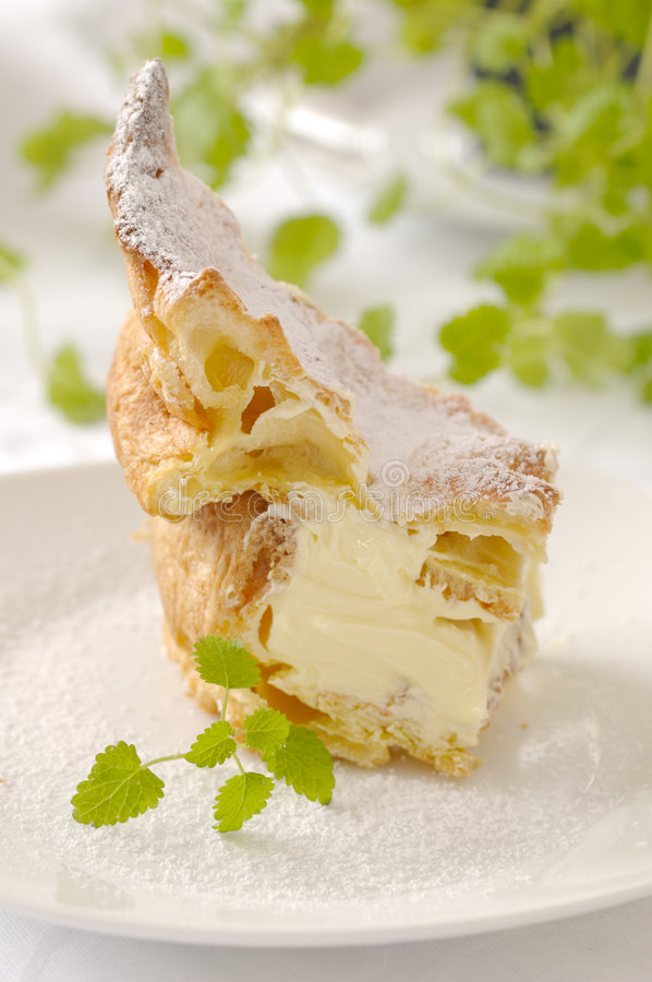 Gâteau de feuilleté photographie stock