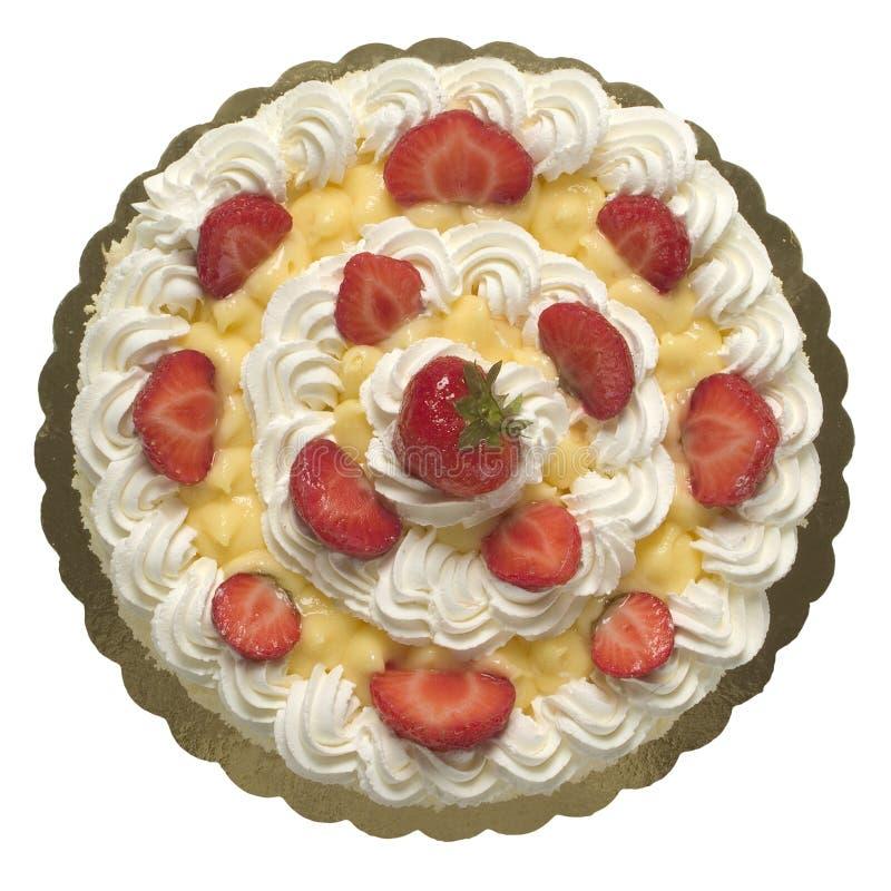Gâteau de fraise images libres de droits