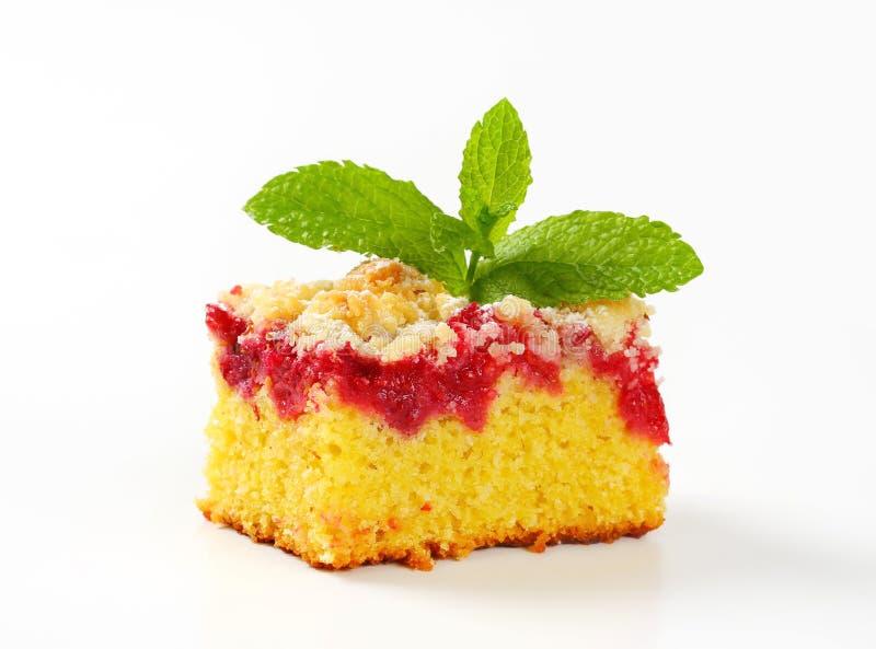 Gâteau de framboise photos stock