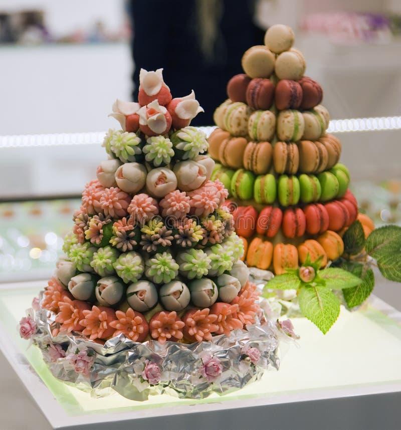 Gâteau de fruit photos libres de droits