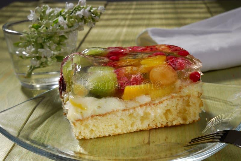 Gâteau de fruit photo libre de droits