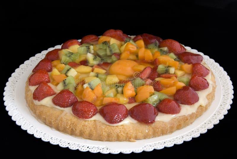 Gâteau de fruit photos stock