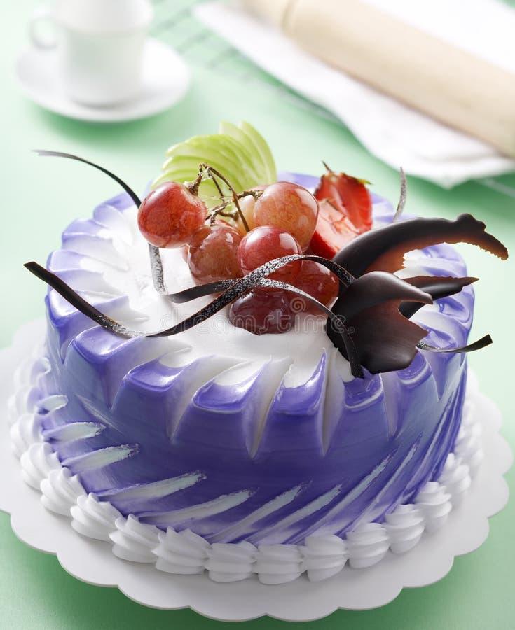 Gâteau de fruits photographie stock libre de droits