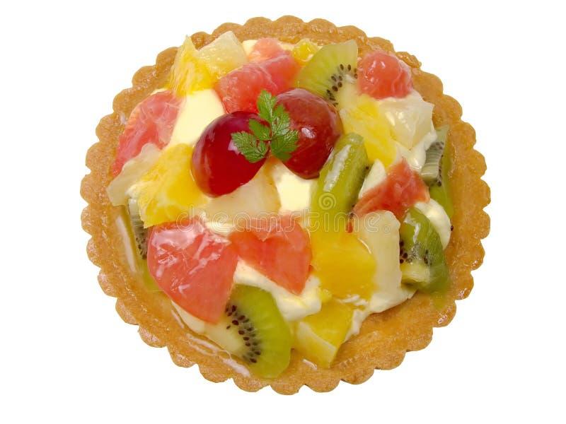 Gâteau de fruits photo libre de droits