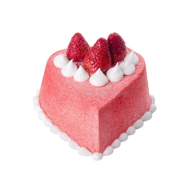 Gâteau, gâteau de glace sur le fond photographie stock