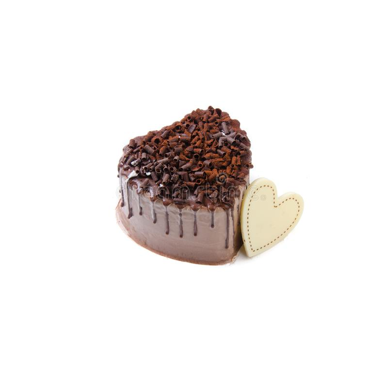 Gâteau, gâteau de glace sur le fond images stock