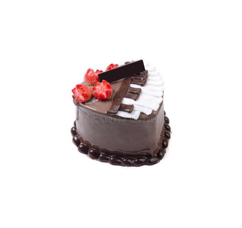 Gâteau, gâteau de glace sur le fond images libres de droits