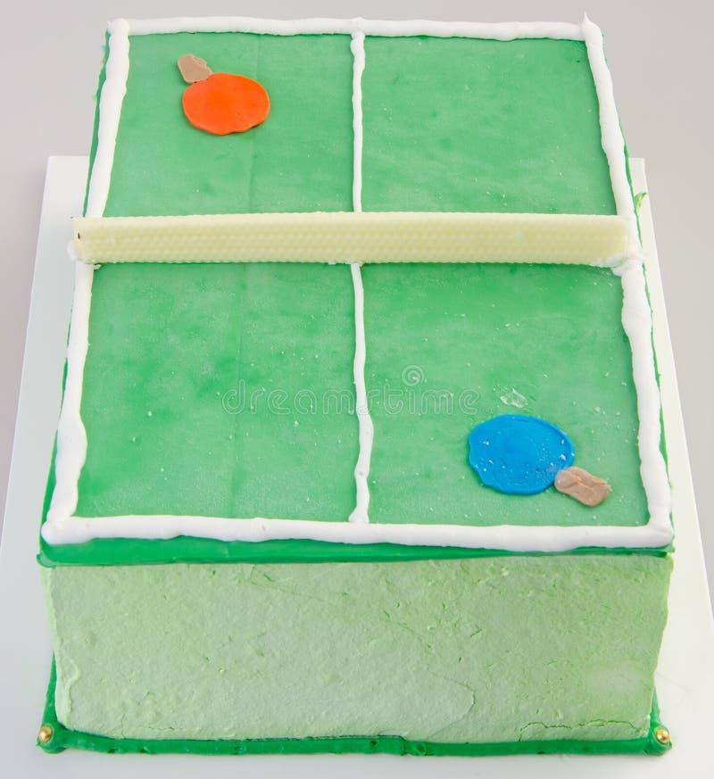 Gâteau, gâteau de glace sur le fond photographie stock libre de droits