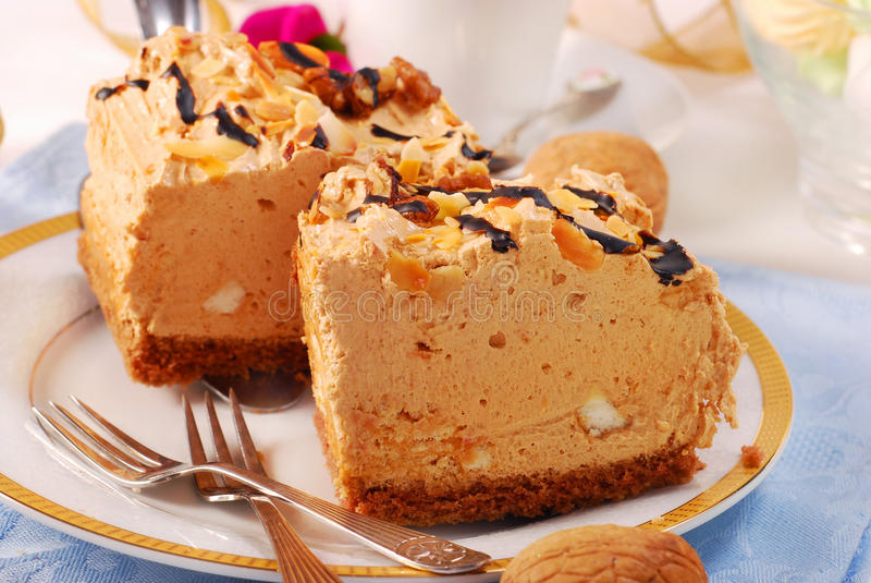 Gâteau de goût de Halva photos libres de droits