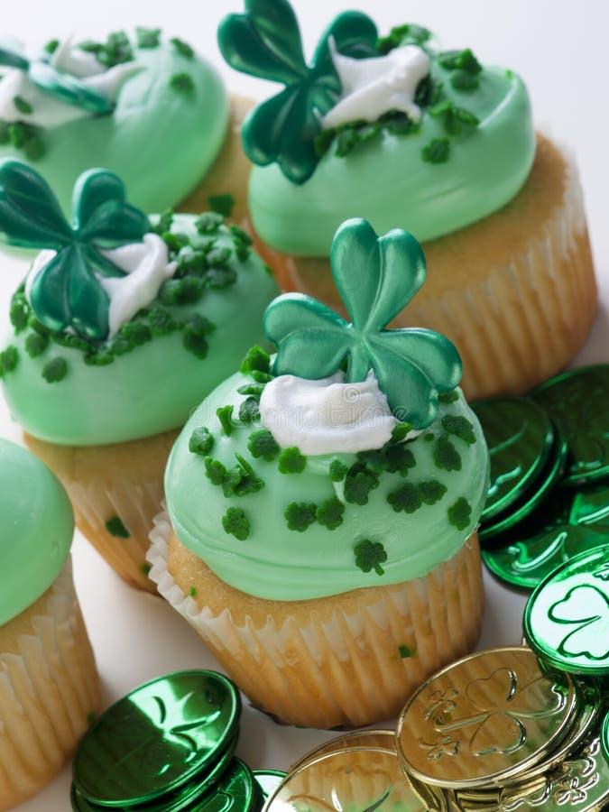 Gâteau de jour de rue Patrick image stock