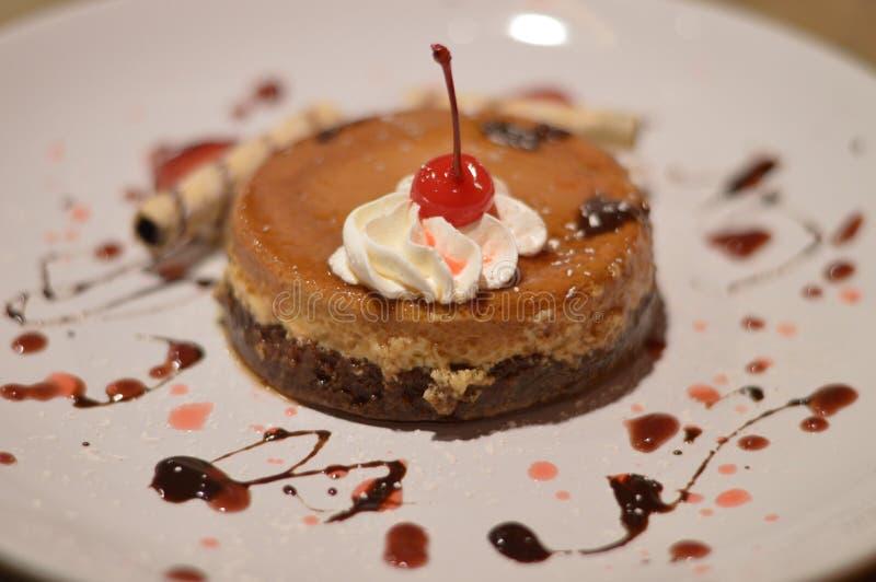 Gâteau de Leche Flan images libres de droits