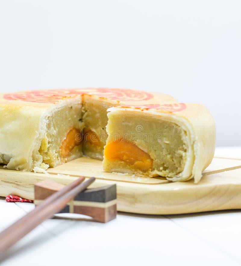 Gâteau de lune chinois photo libre de droits