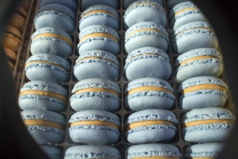 Gâteau de Macarons - doux - dessert - sucreries - confection - délicatesse - sucrerie photographie stock libre de droits