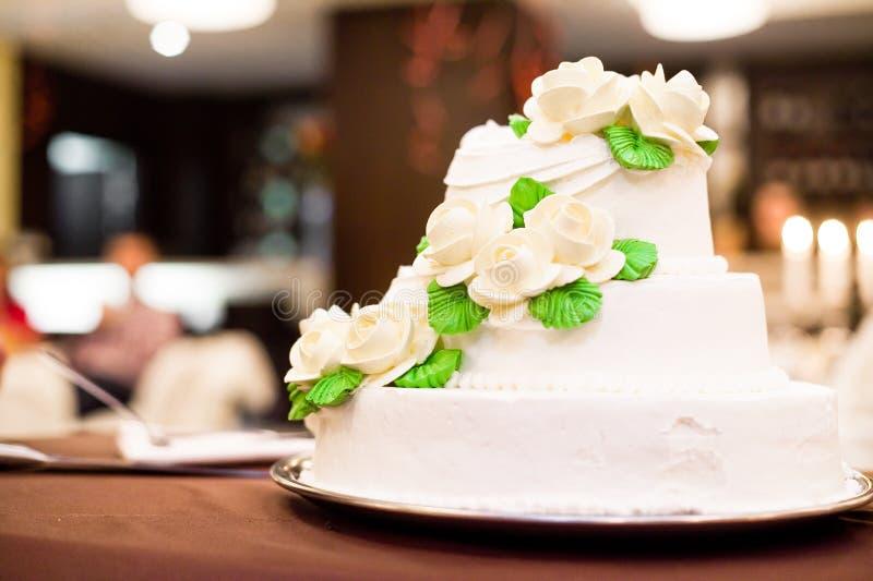 Gâteau de mariage photos stock