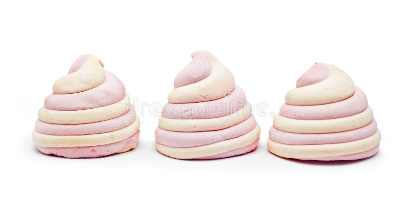Gâteau de meringue photos stock